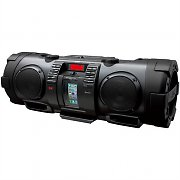 JVC RV-NB90B BoomBlaster iPhone/iPod Portable Boombox Ghettoblaster