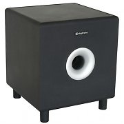 "Skytronic SHFS08B Home Hifi Active 8"" Subwoofer - Black"
