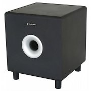 "Skytronic SHFS10B Home Hifi Active 10"" Subwoofer - Black"