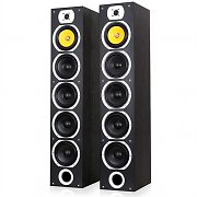 	Pair Skytronic SHFT57B Tower Speakers Home Cinema Hifi 1200W Max