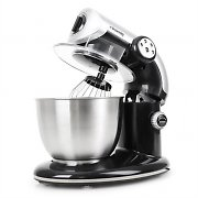 H.Koenig KM80s Food Processor Mixer 1000W 5 Litre 3 Attachments Black
