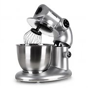H.Koenig KM80s Food Processor Mixer 1000W 5 Litre 3 Attachments Gray