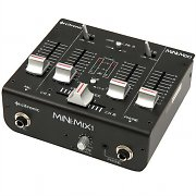 Citronic Mini:Mix1 2-Channel USB DJ Mixer with Soundcard