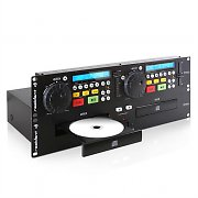 Resident DJ JY-2CD Professional Dual CD Player 2U Rack Mount