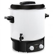 Klarstein FP-27L900A Catering Urn 27 L Water Boiler Slow Cooker 1800W with Timer
