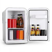 Klarstein Bella Taverna Cool/Warm Box Mini Fridge 12V - Silver