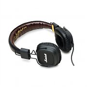 Marshall Major Headphones Black with Hands-Free Speakerphone Mic