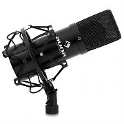 Auna MIC-900B USB Cardioid Studio Condenser Microphone Black