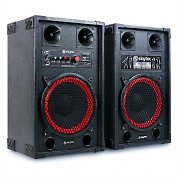 "Skytec SPB-10 Active/Passive 10"" PA Speakers 600W"