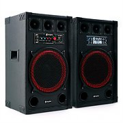 "Skytec SPB-12 Active/Passive 12"" PA Speakers 800W"
