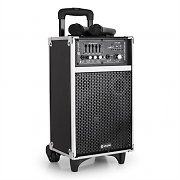 Skytec ST-080 Portable PA Speaker System USB SD MP3 VHF- 80W