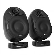 "Power Dynamics PD-ISF6B 6.5"" Active Speaker Pair 160W - Black"