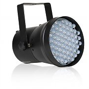 Beamz PAR36 DMX LED DJ Disco Light Effect - White Stage Lighting
