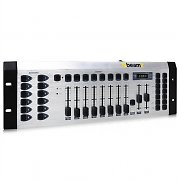 Beamz DMX-192S Lighting Controller 192 Channels MIDI - 3U Rack