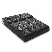 Skytec STL-4 4 Channel DJ Mixer Studio PA with Delay Effect