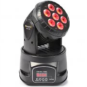 Beamz MHL-74 Moving Head Light Mini Wash DMX 13 Channel RGB 7 x 10W