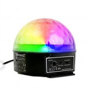 Beamz Magic Jelly LED Disco Party Light Music Controlled RGB Effect