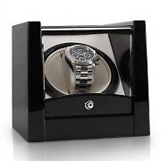 Klarstein 8PT1S One Watch Winder Display Box - Piano Black