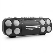 CMX CR 7140 Portable Boombox Ghettoblaster Cassette Deck with USB