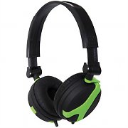 QTX Sound QX40 Headphones Black / Green