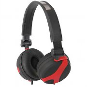 QTX Sound QX40 Headphones Black / Red