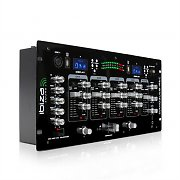 Ibiza DJM103REC 4 Channel DJ Mixer 2 x USB MP3 Recording