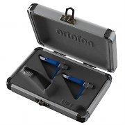Ortofon Concorde DJ S Twin Pack Cartridge and Stylus Set with Case
