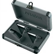 Ortofon Concorde Pro Twin Pack Cartridge & Stylus Set with Case
