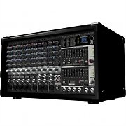 Behringer PMP 2000 14-Channel Powered PA Mixer DJ Amplifier 800W