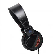 WeSC Conga Lost In Space HiFi DJ Headphones - Black