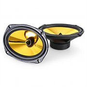 Pair Auna Goldblaster 6x9 Car Speakers 1000W