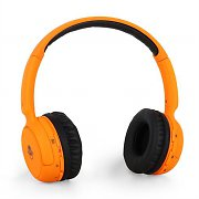 iDance Blue100 Bluetooth Hands-Free Headphones - Orange