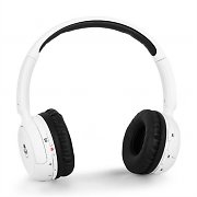 iDance Blue100 Bluetooth Hands-Free Headphones - White