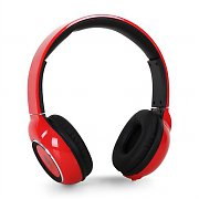 iDance Blue300 Bluetooth Hands-Free Headphones Red
