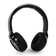 iDance Blue300 Bluetooth Hands-Free Headphones Black