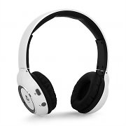 iDance Blue300 Bluetooth Hands-Free Headphones White