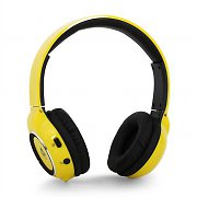 iDance Blue300 Bluetooth Hands-Free Headphones Yellow