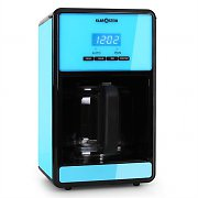 Klarstein Bonjour Coffee Machine with Timer 1000W 1.5 Litre - Blue