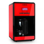 Klarstein Bonjour Coffee Machine with Timer 1000W 1.5 Litre - Red