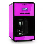 Klarstein Bonjour Coffee Machine with Timer 1000W 1.5 Litre - Purple