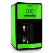 Klarstein Bonjour Coffee Machine with Timer 1000W 1.5 Litre - Green