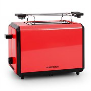 Klarstein Bonjour Toaster 800W Twin Wide Slots - Red