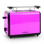 Klarstein Bonjour Toaster 800W Twin Wide Slots - Purple