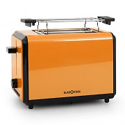 Klarstein Bonjour Toaster 800W Twin Wide Slots - Orange
