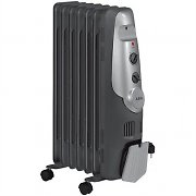 AEG RA-5520 Oil-Filled Radiator Heater with Wheels -1500W