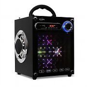 Inovalley Dance Cube Portable Party Speaker USB AUX with Kaleidoscope