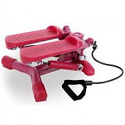 Fitness Lady Swing Stepper Home Trainer Nordic Walking Pink