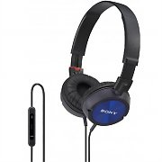 Sony DR-ZX301iP Blue Headphones for iPhone/ iPad/ iPod