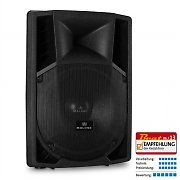 "Malone 15"" Active PA Speaker 2 x Microphone Inputs AUX 1500W"