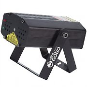 American DJ Micro Gobo Laser Light Disco Stage Effect Red Green Beam